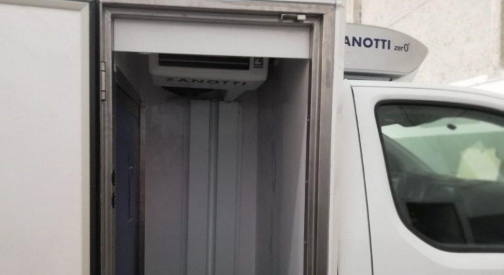 equipo Zanotti Z380 Multitemperatura en furgoneta reparto comida a domicilio de Mercadona