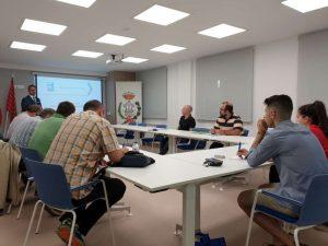 Sala de formación del Colegio Oficial de Ingenieros Técniicos de Zamora durante la jornada de Frío ndustrial de Zanotti Appliance