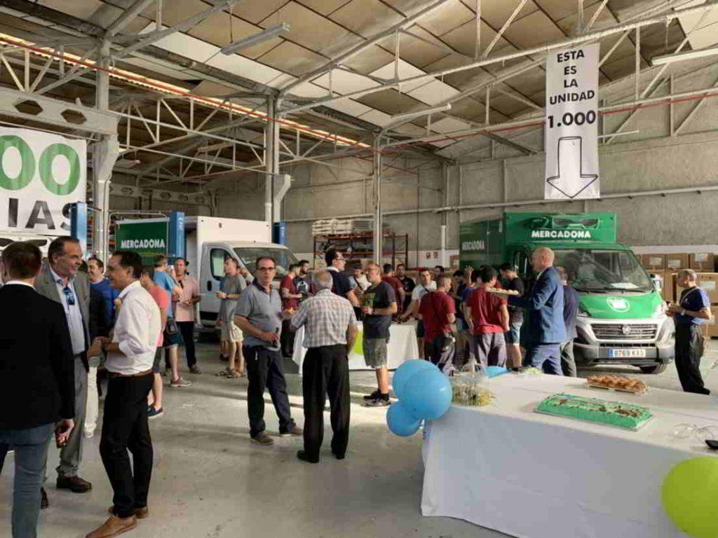 Plano general de la fiesta 1.000 unidades Zanotti para Mercadona