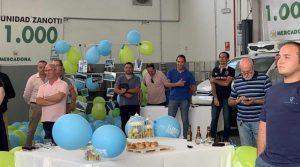 Invitados durante la fiesta 1.000 unidades Zanotti en Mercadona
