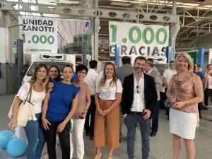Equipo de Zanotti Appliance junto a Michele Veronesi, Zanotti Italia