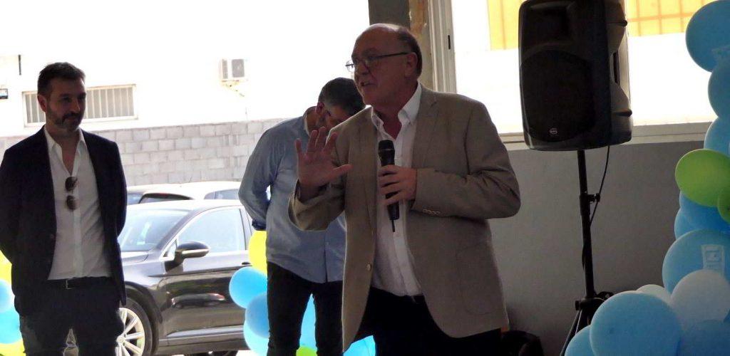 Jose Luis Figols, director División de Transporte de Zanotti Appliance y coordinador del acto de la fiesta mil equipos Zanotti entregados a Mercadona