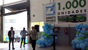 Discurso de Jose Luis Figols. gerente división Transporte Zanotti Appliance en la fiesta 1.000 unidades Zanotti entregadas a Mercadona