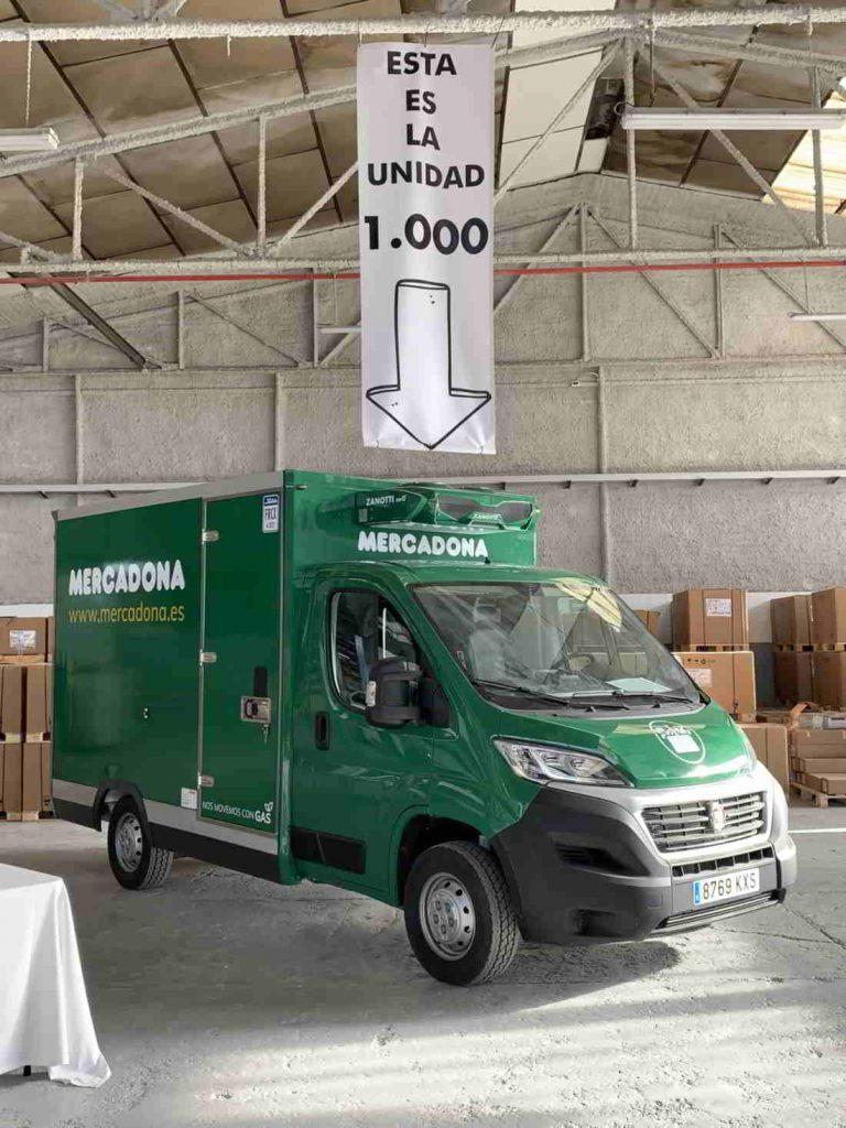 Equipo Zanotti número 1.000 entregado a Mercadona