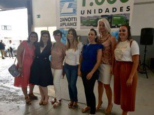Parte del equipo de Zanotti Appliance en la fiesta Mil unidades Zanotti para Mercadona