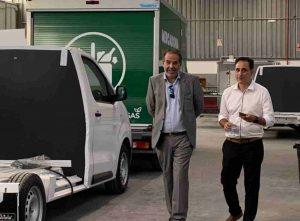 Recorrido por las instalaciones para comprobar el proceso del isotermizado e instalación del equipo Zanotti en las furgonetas de reparto de Mercadona