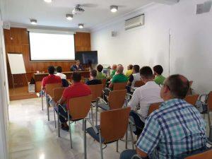 Sala formación en COGITI de Santa Cruz de Tenerife en la jornada de Frío Industrial organizado por Zanotti Appliance