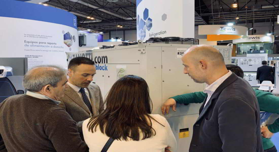 Delegado de Zanotti Appliance en Portugal. Hugo Espada en la feria de C&R 2019