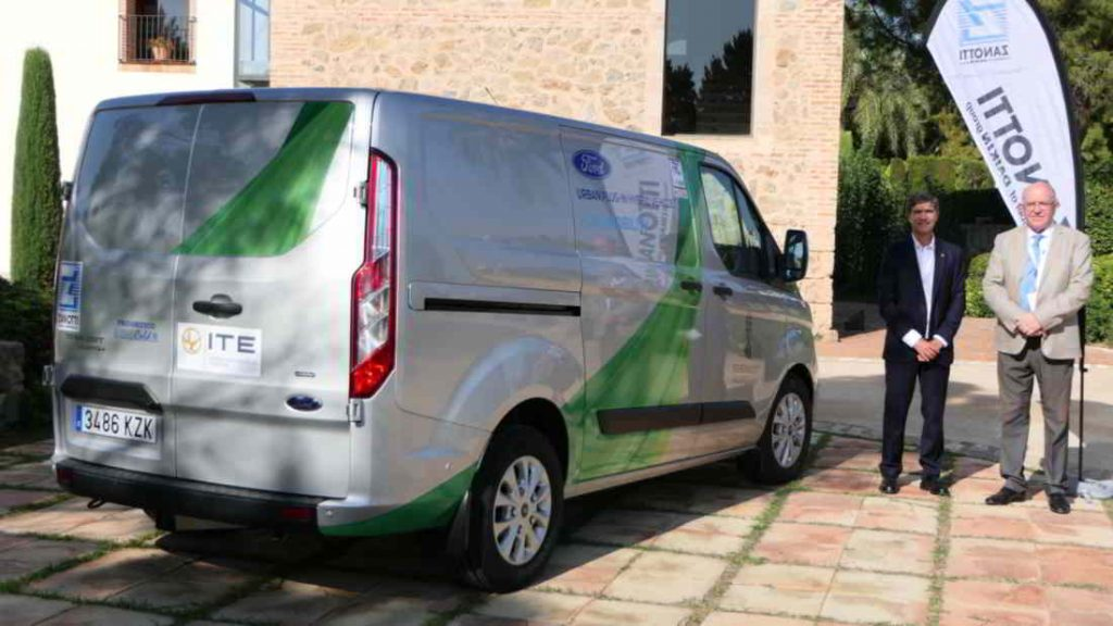 Zanotti eléctrico en primer vehículo híbrido de Ford