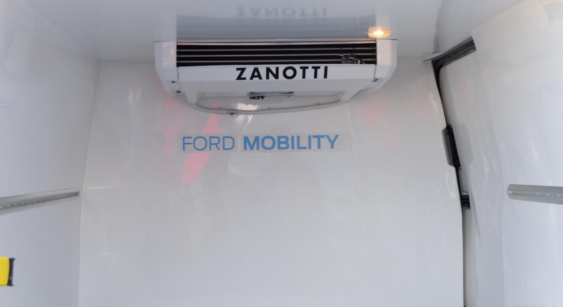 Zanotti 009 eléctrico para prototipo de Ford Transit Custom Hibrida