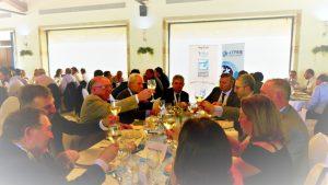 Brindis presidencial en la comida inaugural del V Congreso Nacional del Transporte Frigorífico