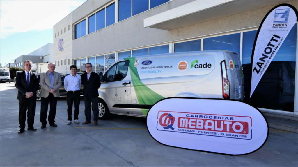 Entrega oficial prototipo Zanotii 009 eléctrico en la Ford Transit Custo, Plug-In Hybrid