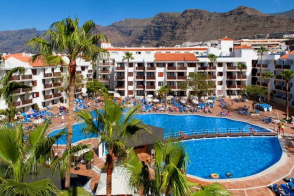 imagen del exterior del hotel Tamino Tropical de Tenerife