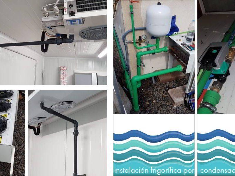 instalación DBO Zanotti por condensación de agua