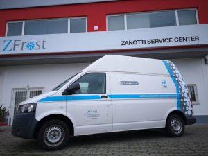 Primer taller móvil Zanotti en Portugal