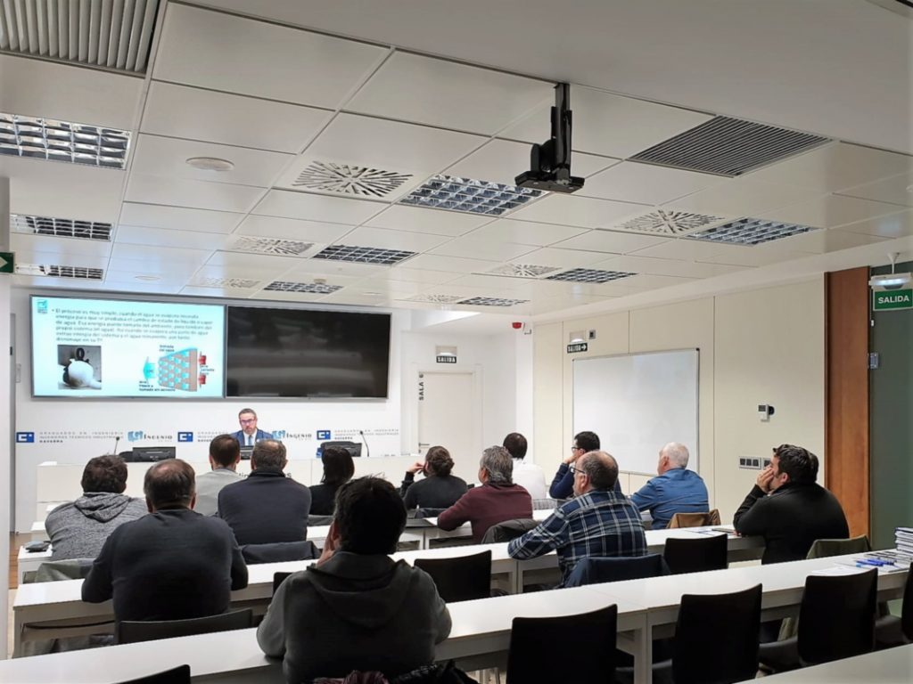 Jornada técnica de frío industrial Zanotti en Colegio de Ingenieros industriales de Navarra
