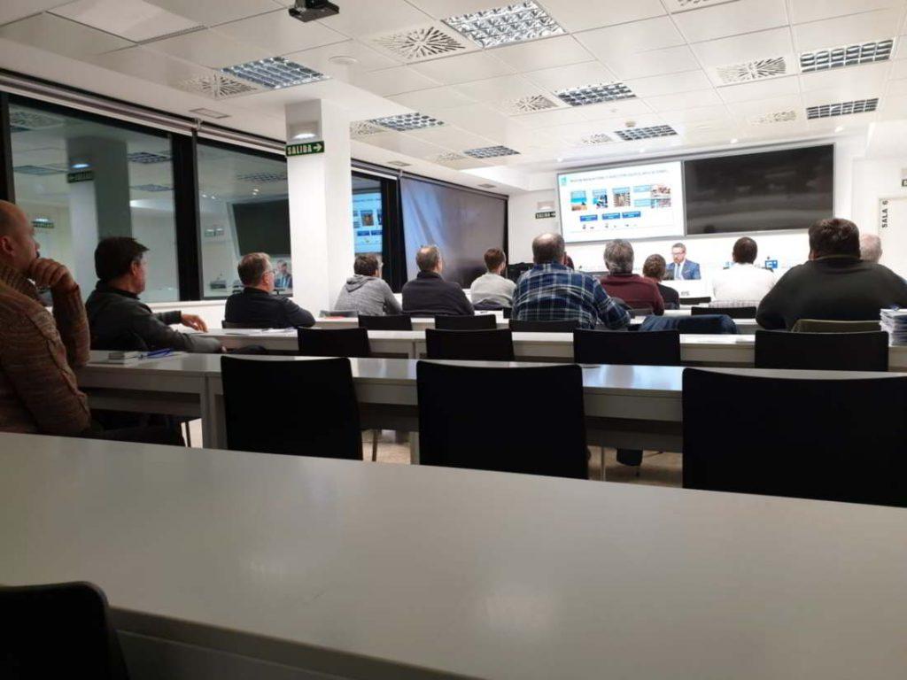 instalaciones del colegio de ingenieros técnicos industriales de Pamplona