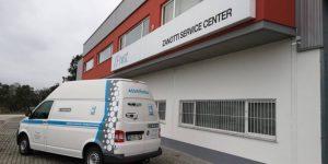 Nuevo vehículo taller móvil Zfrost Zanotti en Portugal