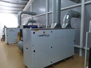 condensadoras Zanotti para obrador