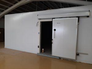 Cámara modular Boxcold con equipo compacto de techo Zanotti