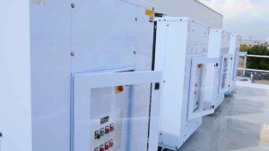Unidades condensadoras Zanotti semiherméticas para cámaras de fruta y verdura