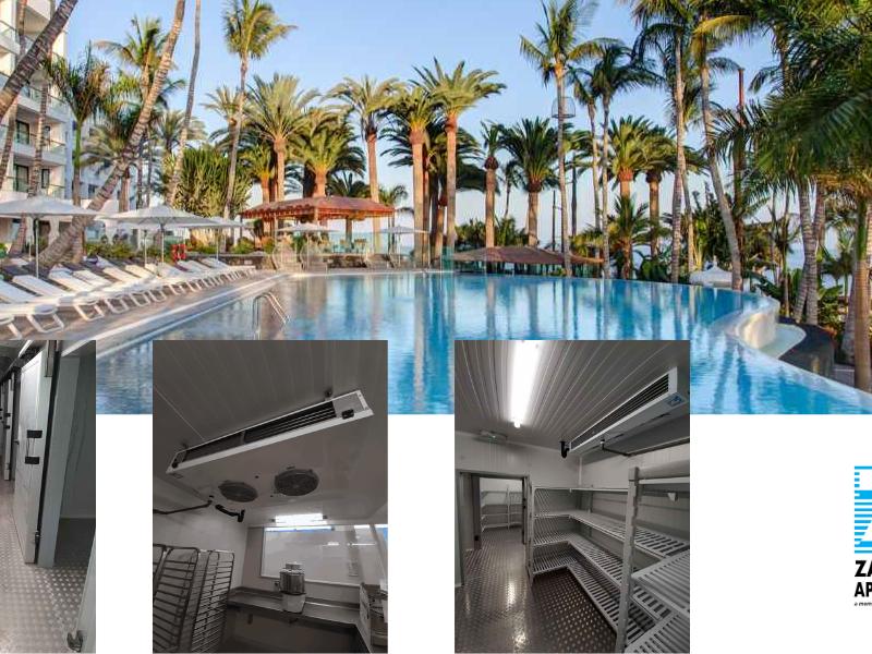 Hotel Los Fariones en Lanzarote. Reforma integral de las cocinas