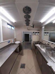 Evaporador Zanotti para sala obrador de las cocinas del hotel Los FAriones Lanzarote
