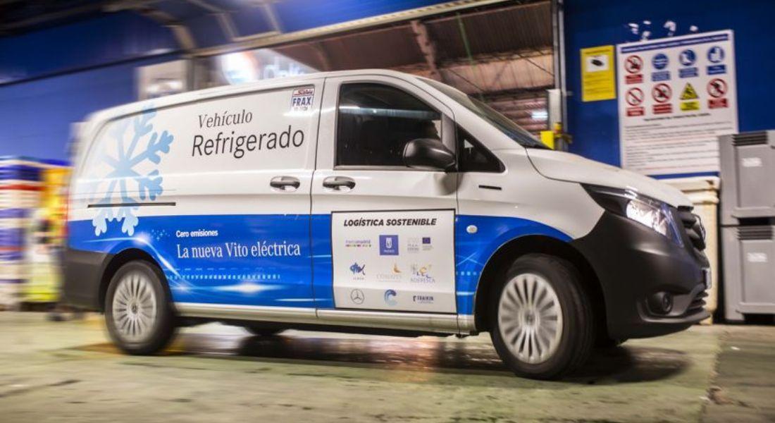 Nueva eVito Mercedes 100 % eléctrica refrigerada