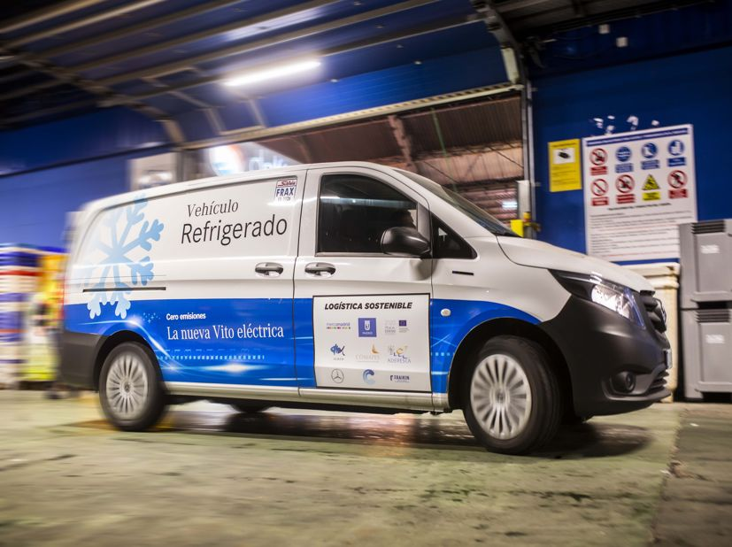 Nueva furgoneta Mercedes isotermo refrigerada Zanotti