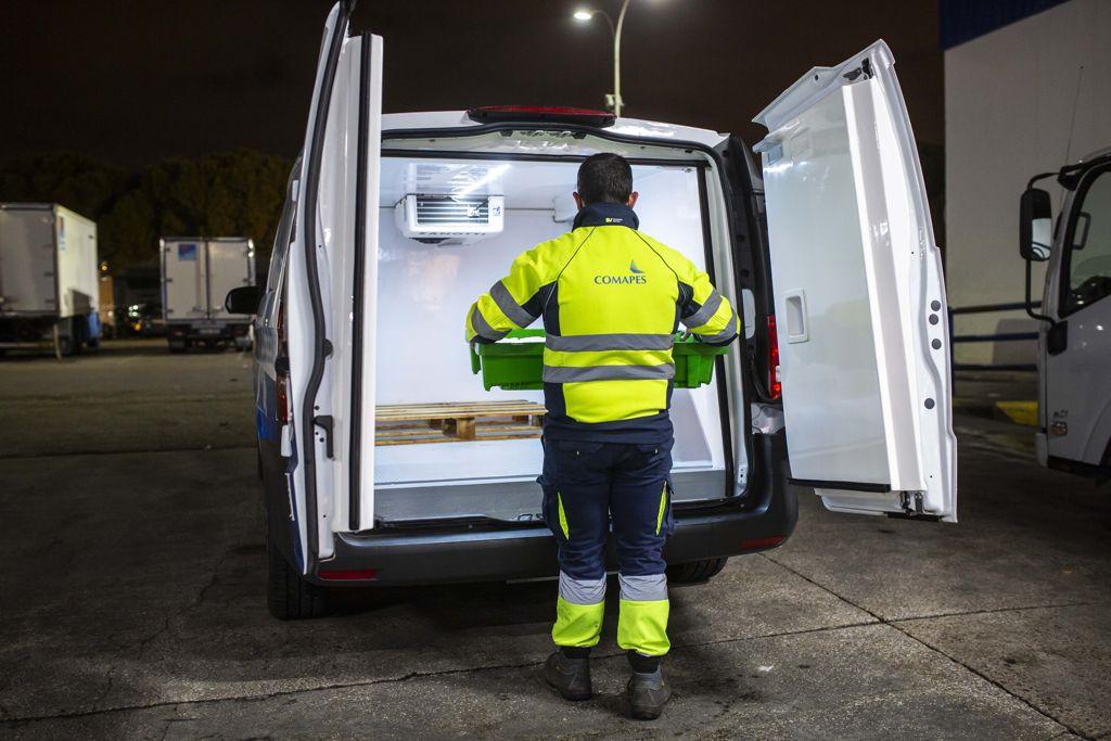 Nueva furgoneta MB eVito isotermo refrigerada 100% eléctrica