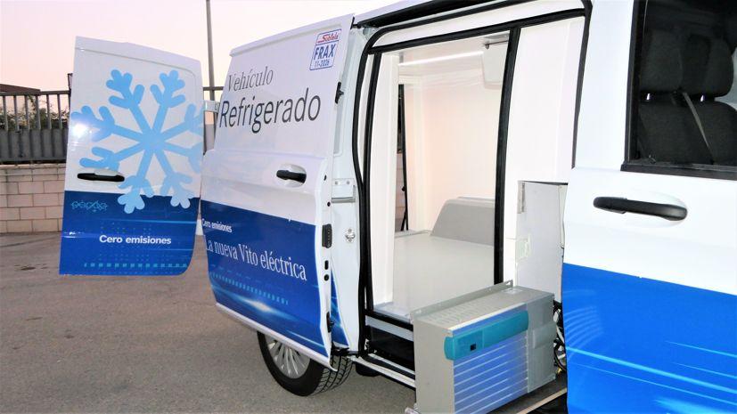 Zanotti en la nueva Evito Mercedes refrigerada 100% eléctrica
