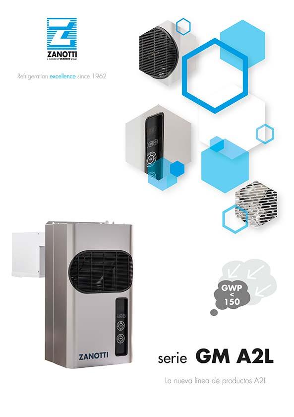 Catálogo serie GM A2L refrigeración Fija