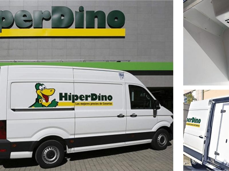 35 nuevos Zanotti para la ampliación de la flota de reparto de supermercados Hiperdino