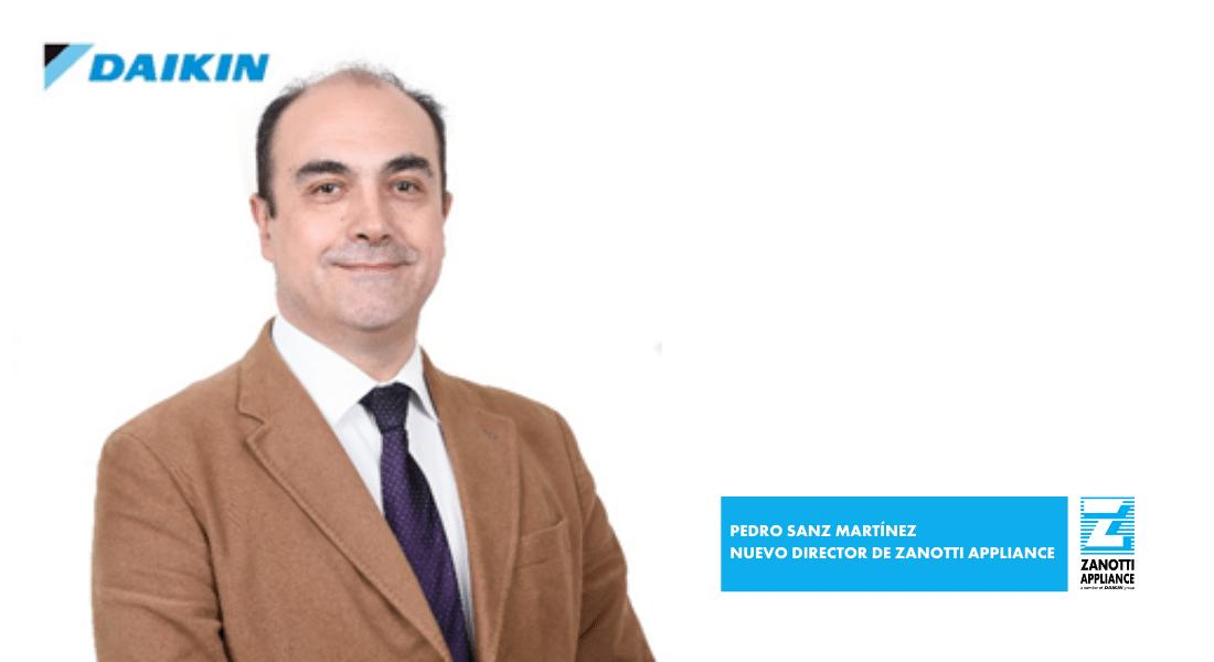 PEDRO SANZ NUEVO DIRECTOR GENERAL ZANOTTI APPLIANCE