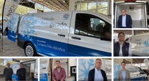 Valoraciones de clientes Zanotti sobre la nueva eVito MB isotermo refrigeradad 100% eléctrica