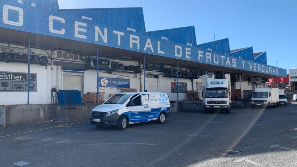visita Mercado Central de Frutas A Coruña con la nueva eVito MB isotermo eléctrica Zanotti