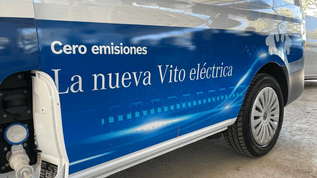 nueva eVito Mercedes Benz isotermo refrigerada eléctrica con Zanotti