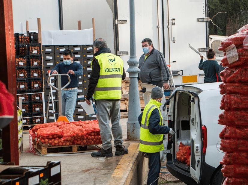 voluntarios Banco de Alimentos de Madrid
