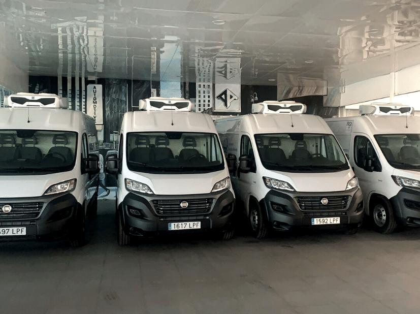 vehículos isotermizados en Automotive con equipos Zanotti. El transporte refrigerado es clave